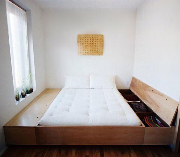 استغلال المساحات الضيقة في غرف النوم
