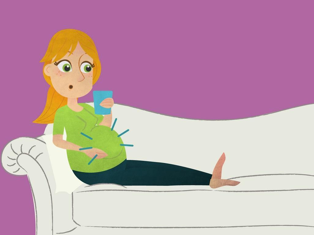 اشياء تساعد على الولادة اول الشهر التاسع