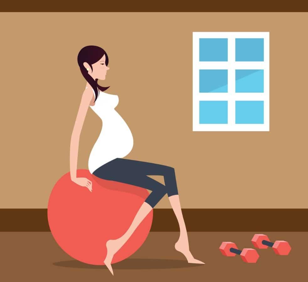 اشياء لتساعد على الولادة اول التاسع