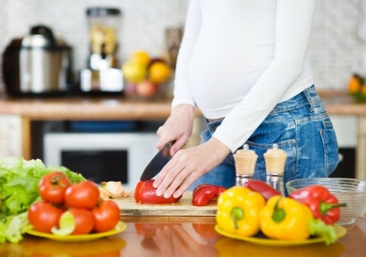 غذاء الحامل في الشهر التاسع لزيادة وزن الجنين