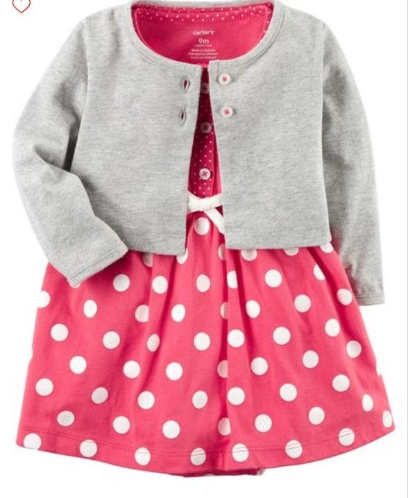 ملابس للبنات الصغار شتويه