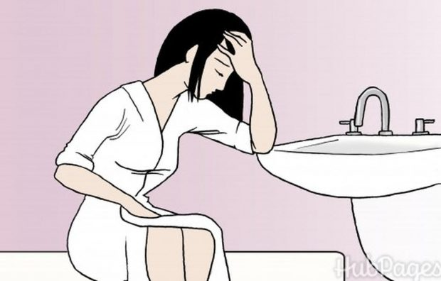 اعراض الحمل في الاسبوع الاول من التلقيح