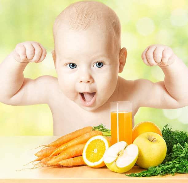 جدول غذاء الطفل في الشهر الخامس